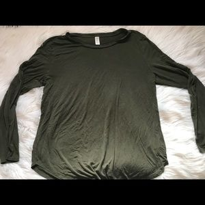 Old Navy Luxe Long Sleeve Shirt